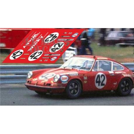 Porsche 911S - Le Mans 1970 nº 42